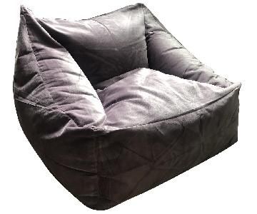 Urban Outfitters Velvet Lounge Chair