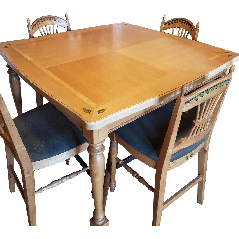 5-Piece Bar Height Dining Set - image-0
