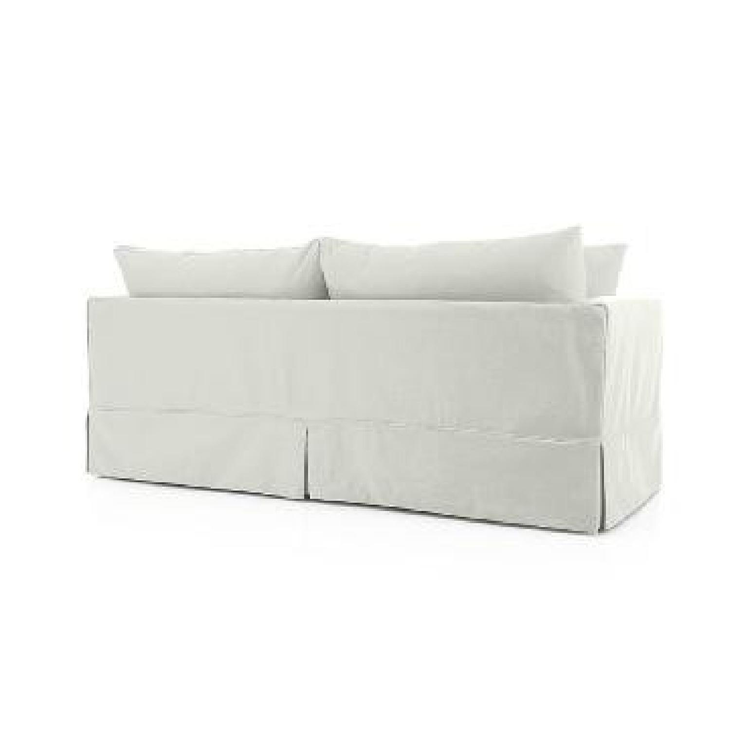 Crate & Barrel Willow Queen Sleeper Sofa - image-4