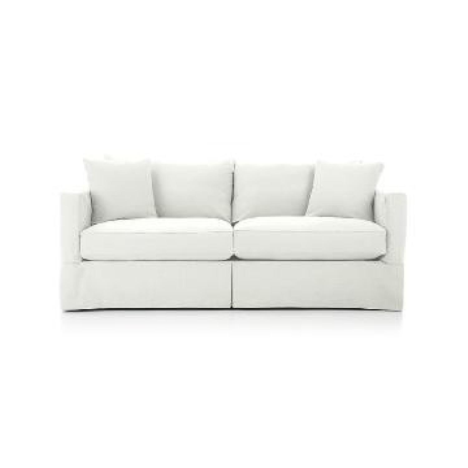 Crate & Barrel Willow Queen Sleeper Sofa - image-6