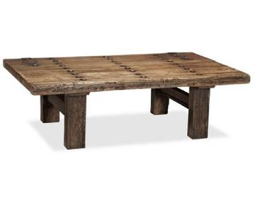 Pottery Barn Hastings Reclaimed Wood Coffee Table