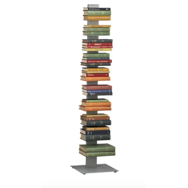 CB2 Array Aluminum Bookcase - image-1
