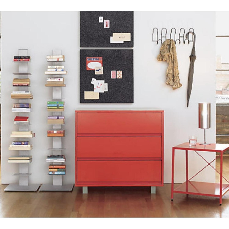 CB2 Array Aluminum Bookcase - image-2
