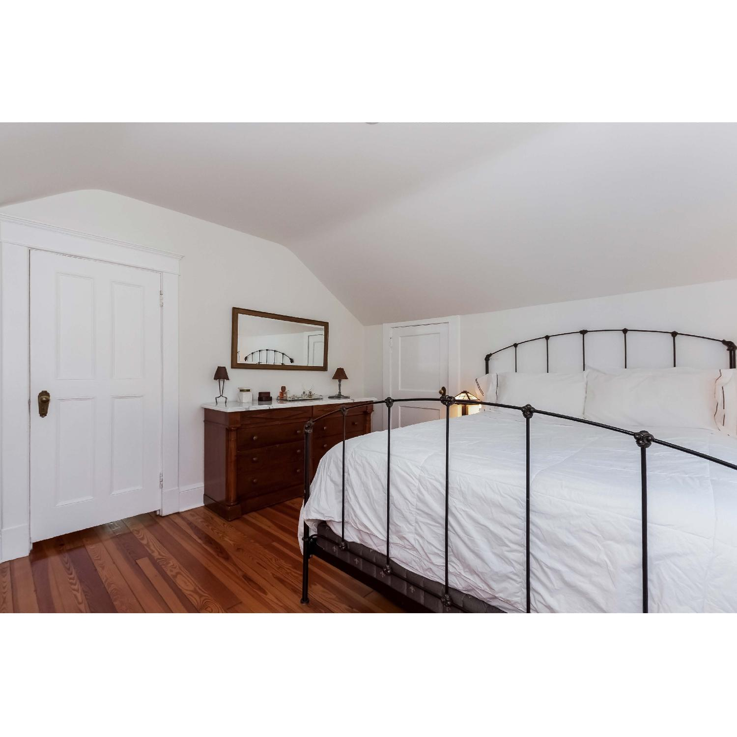 Charles P. Rogers Rutherford Queen Iron Bed - image-3