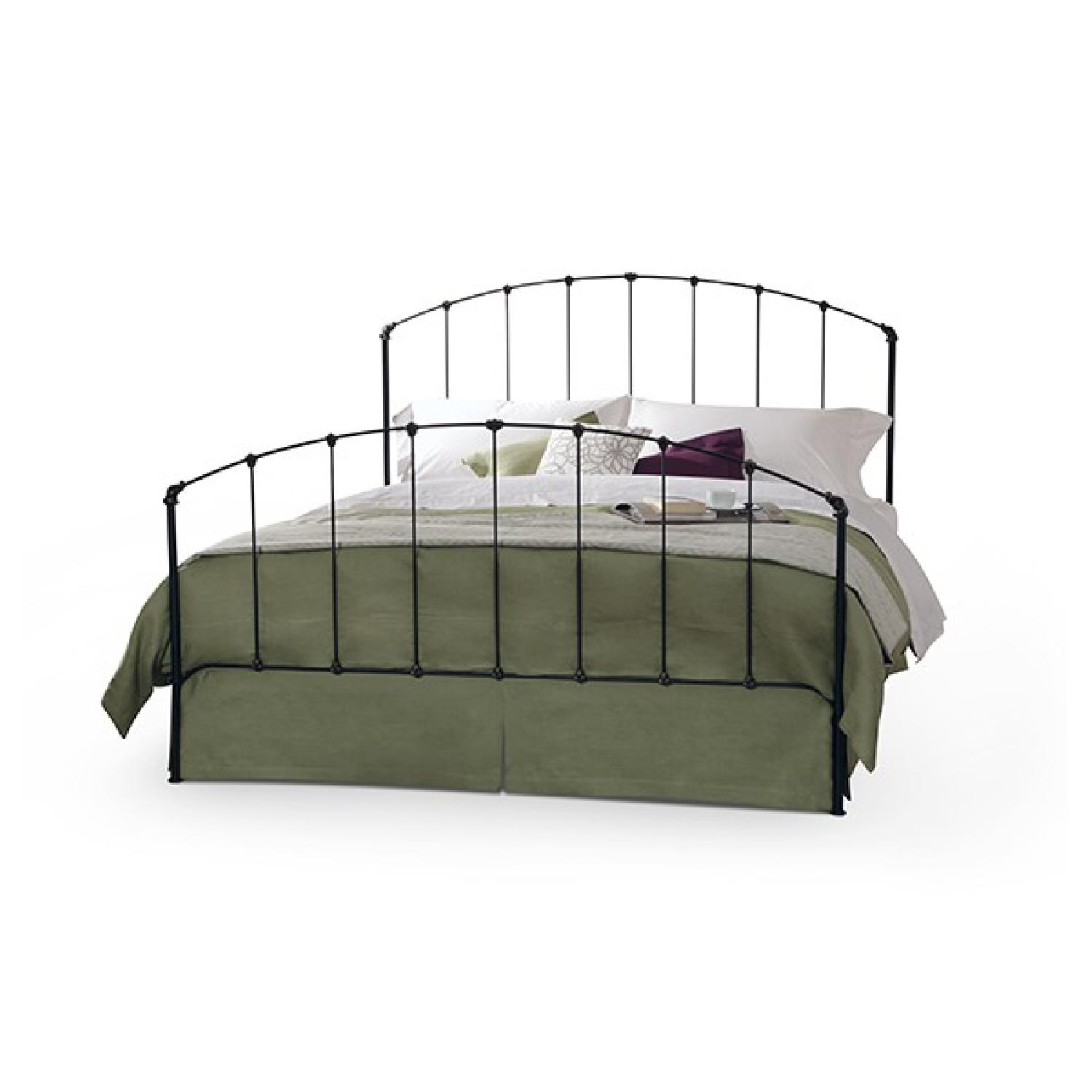 Charles P. Rogers Rutherford Queen Iron Bed - image-0