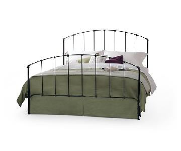 Charles P. Rogers Rutherford Queen Iron Bed