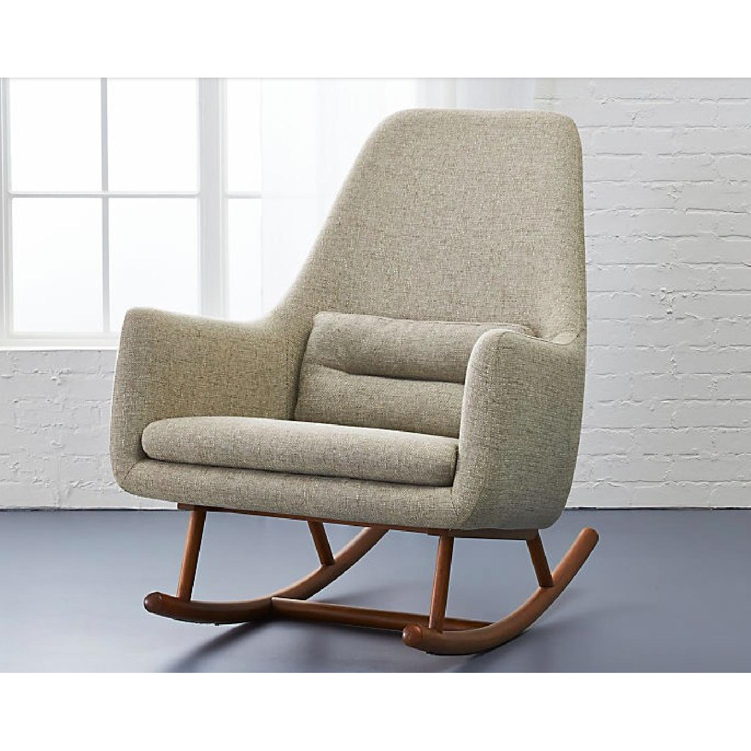 CB2 Saic Quantam Rocking Chair - image-3