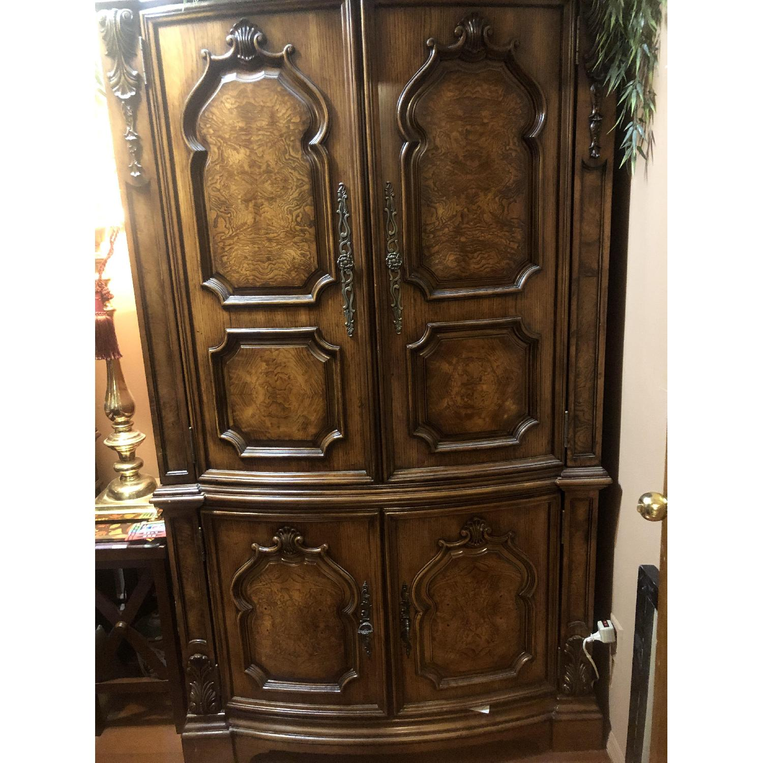 Wood Armoire - image-1