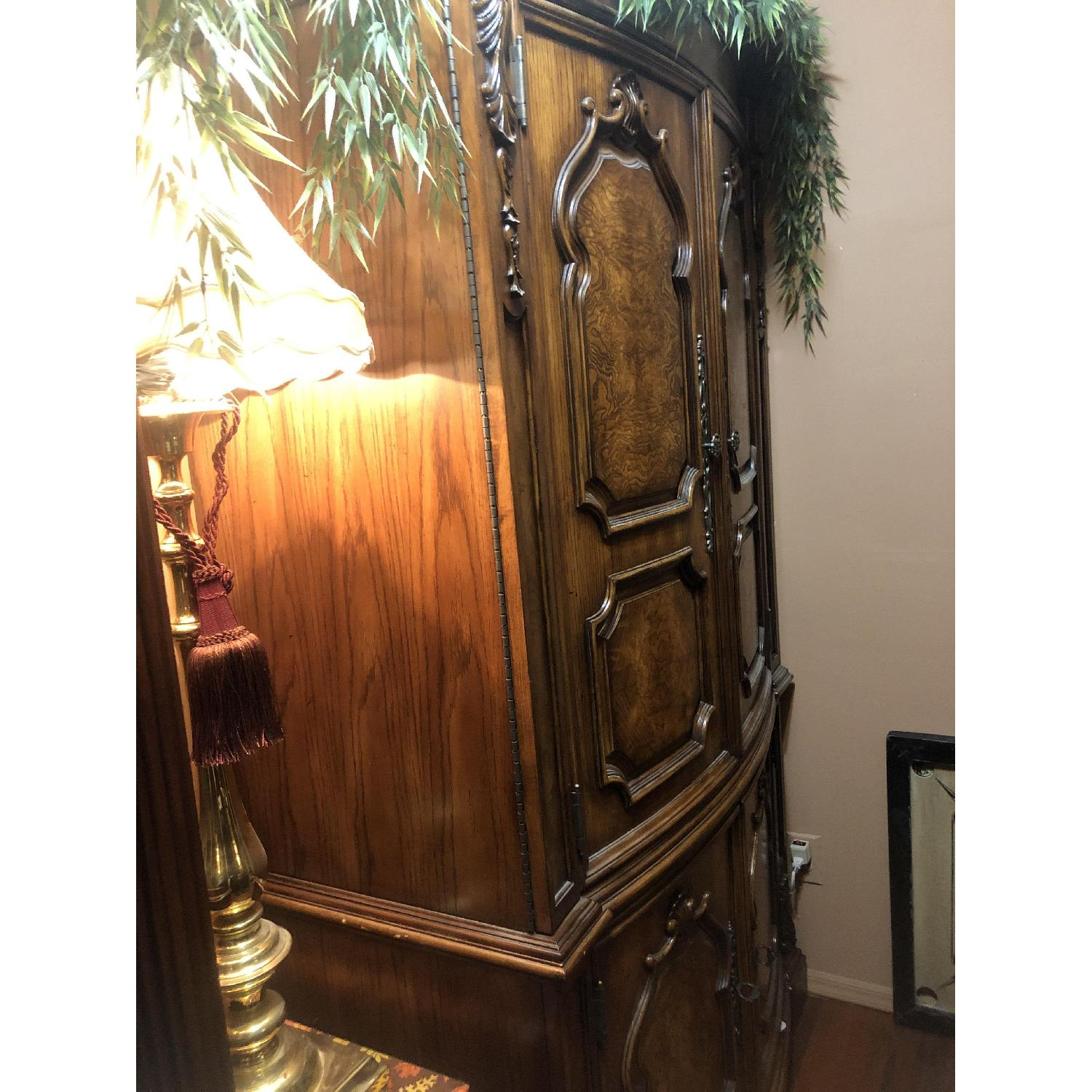 Wood Armoire - image-2