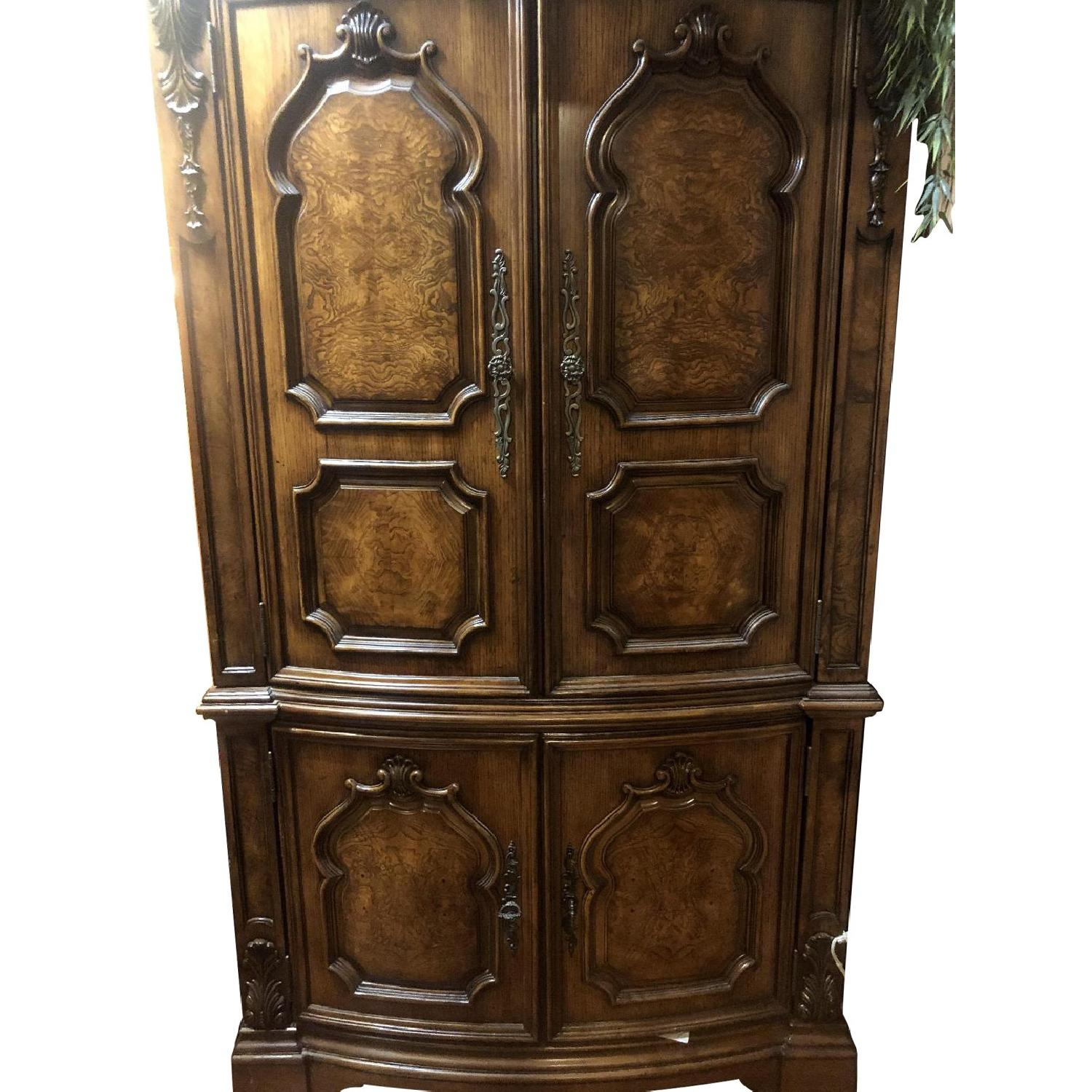 Wood Armoire - image-0