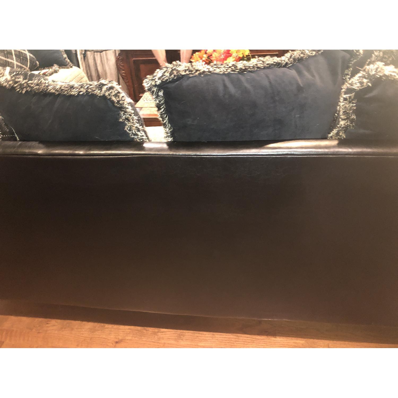 Jennifer Convertibles Leather & Fabric Sofa - image-2