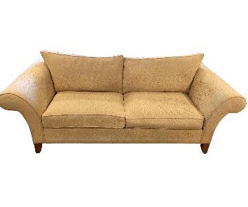 Ethan Allen Roll Arm Sofa