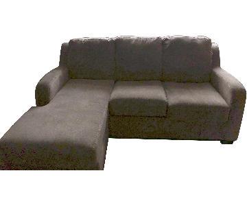 Ashley Beige Sectional Sofa w/ Chaise