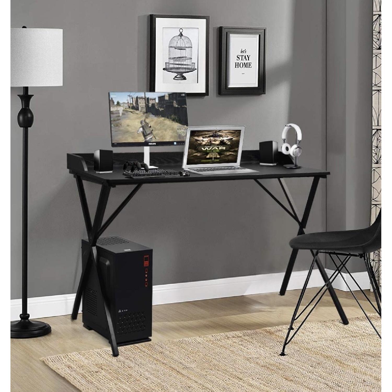 Aingoo Black Writing Computer Desk - image-1