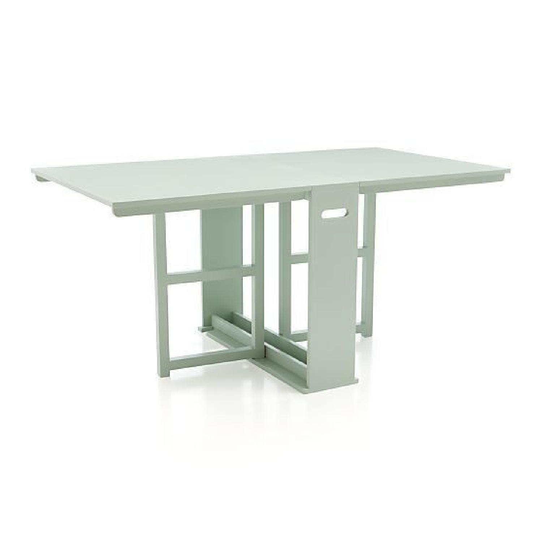 Crate & Barrel Span Gateleg Dining Table