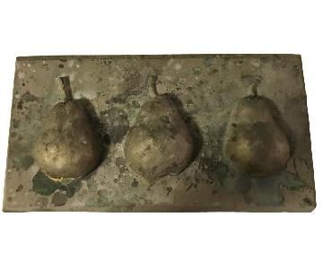 Pear Stone Decorative Wall Art