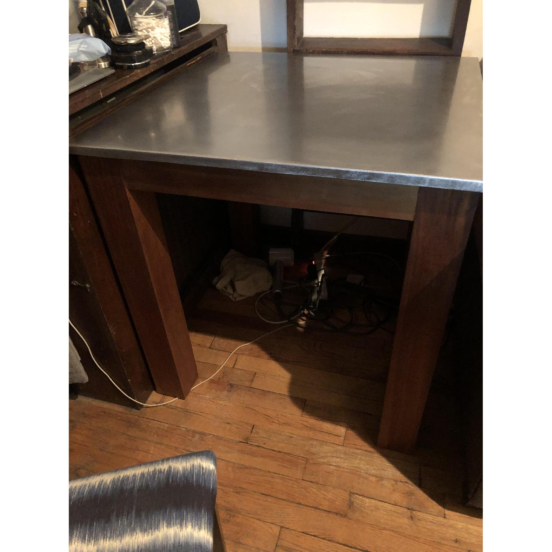 West Elm Rustic Kitchen Table - image-1