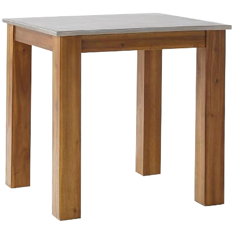 West Elm Rustic Kitchen Table - image-0