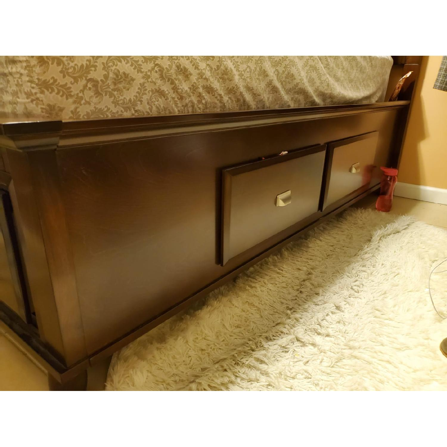 Bob's Spencer Full Size Bed w/ 6 Drawers - image-2