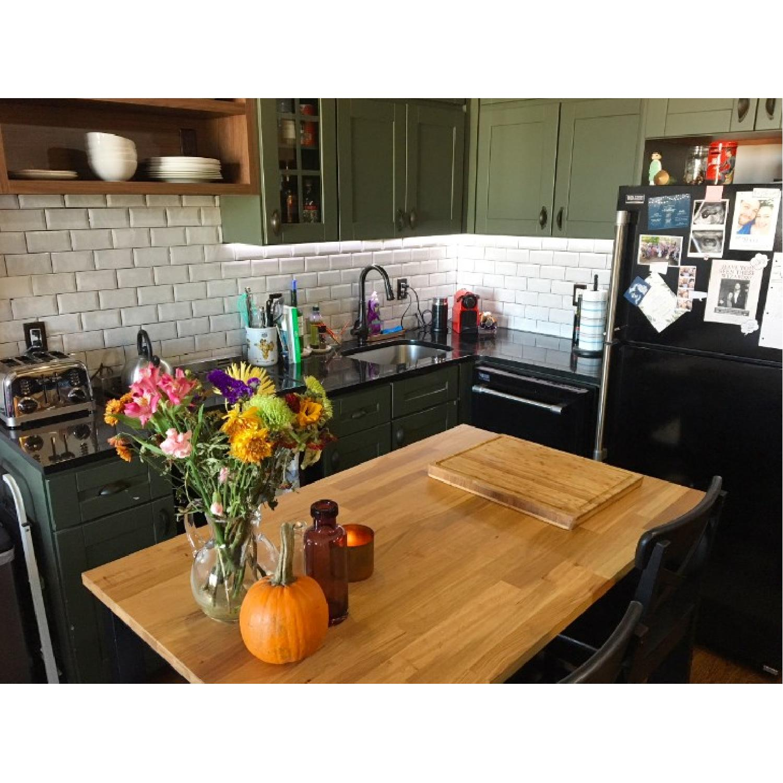 Ikea Stenstorp Kitchen Island w/ 2 Stools - image-2