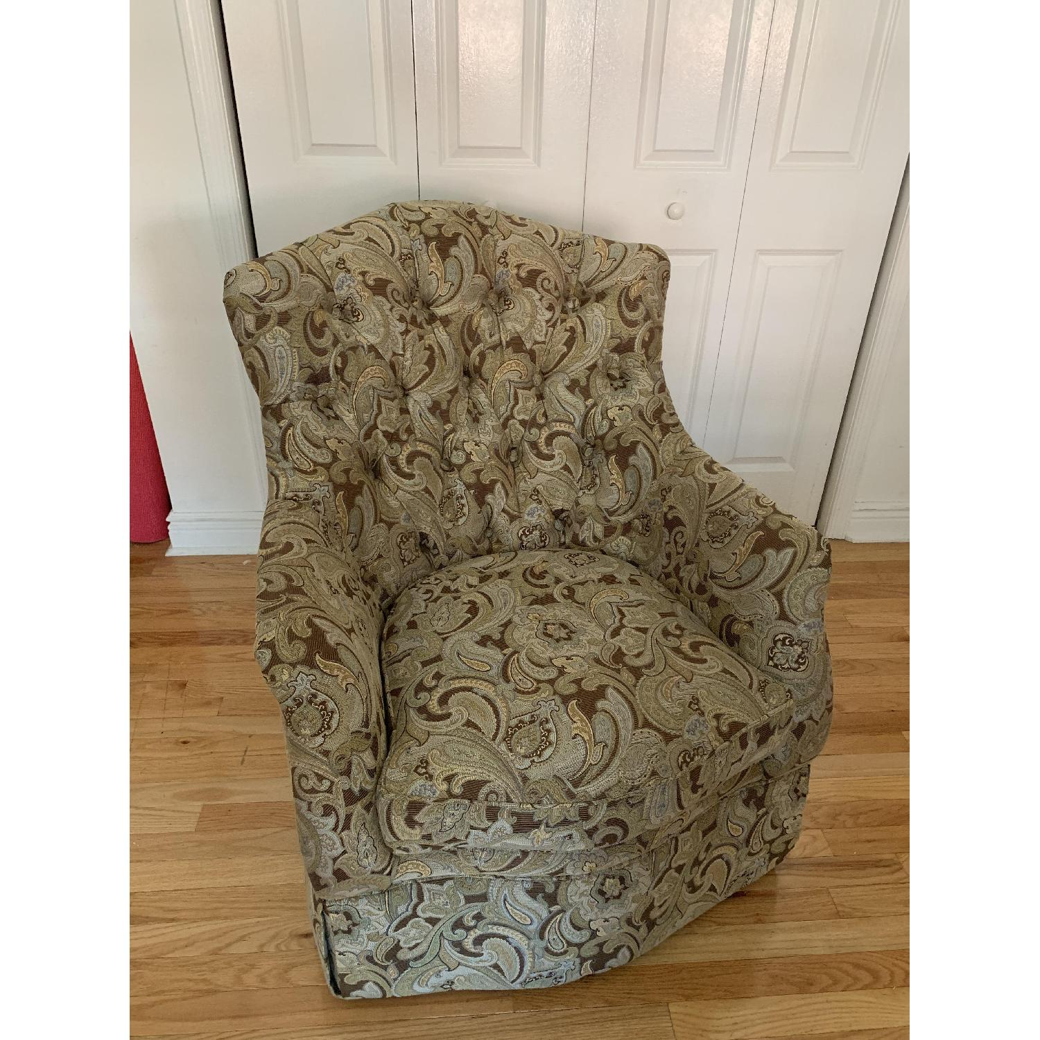 Schnadig Upholstered Arm Chair - image-1