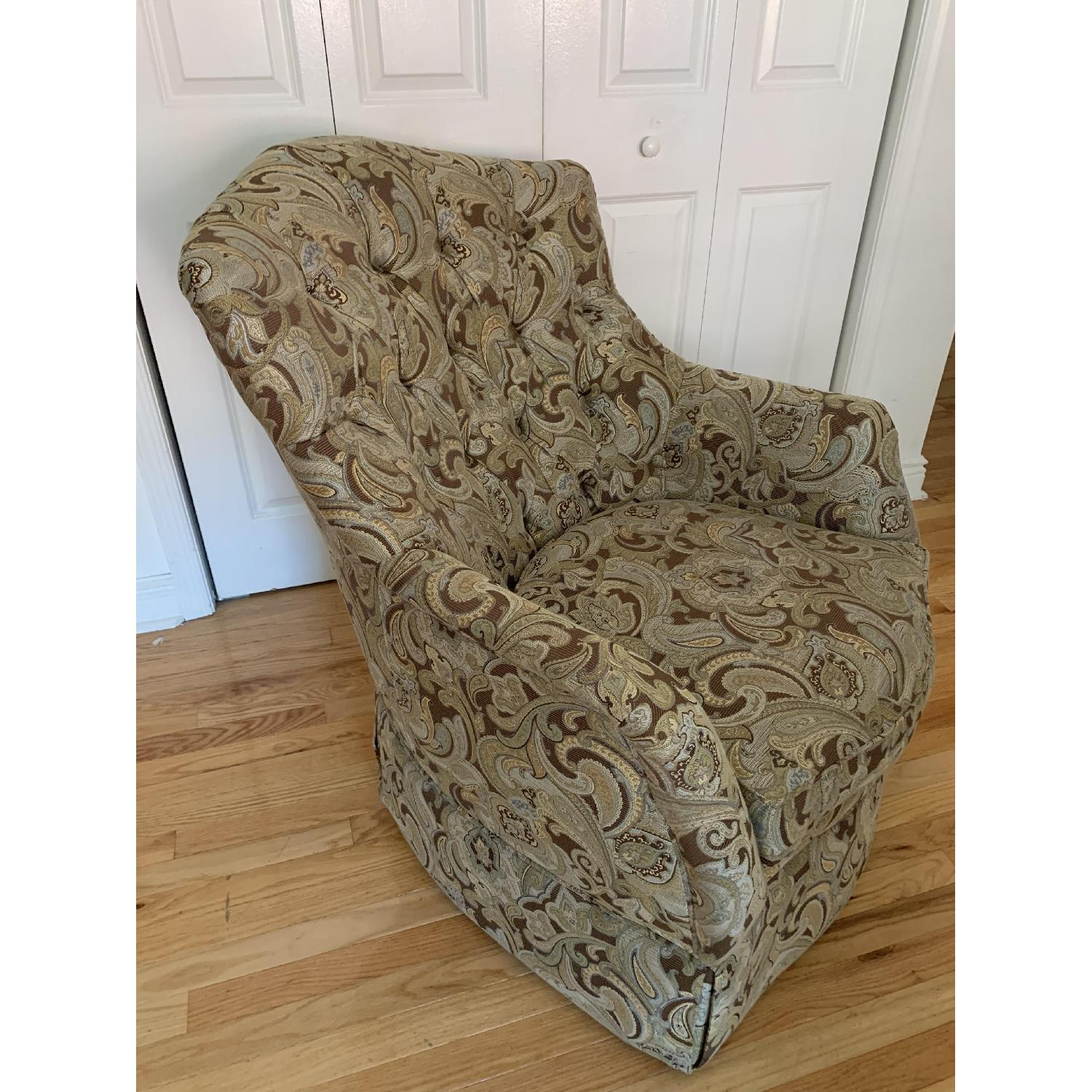Schnadig Upholstered Arm Chair - image-2