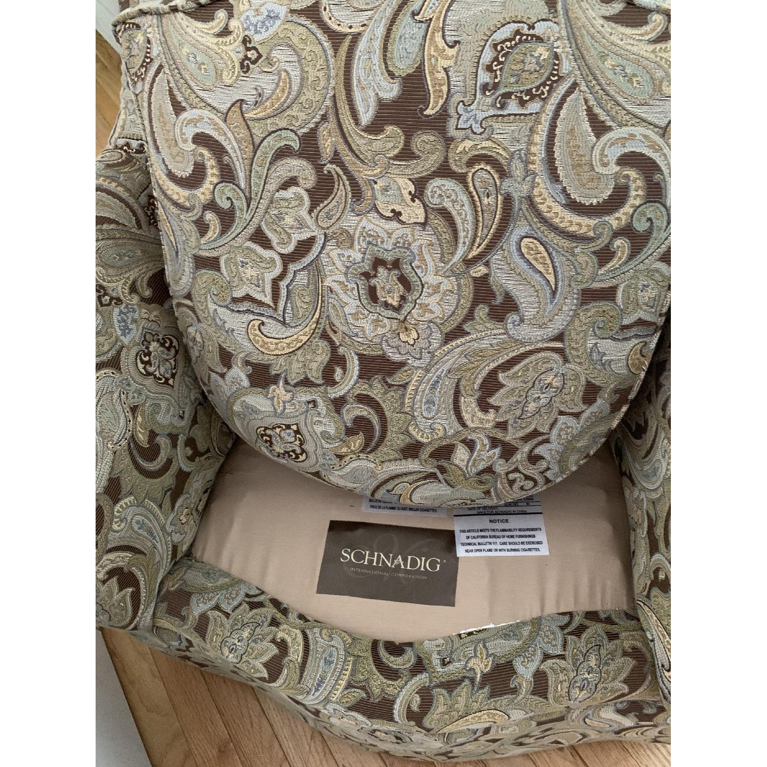 Schnadig Upholstered Arm Chair - image-3