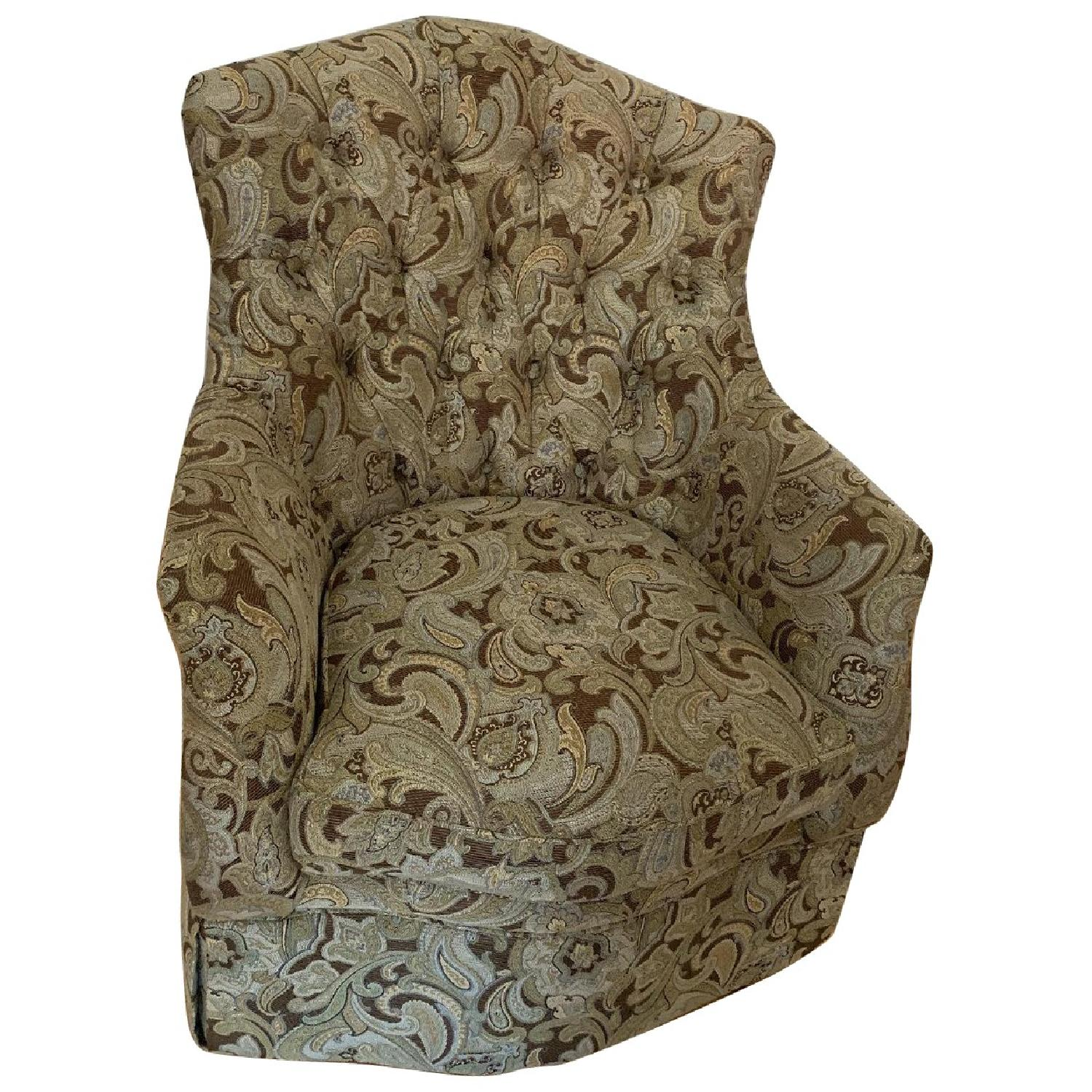 Schnadig Upholstered Arm Chair - image-0