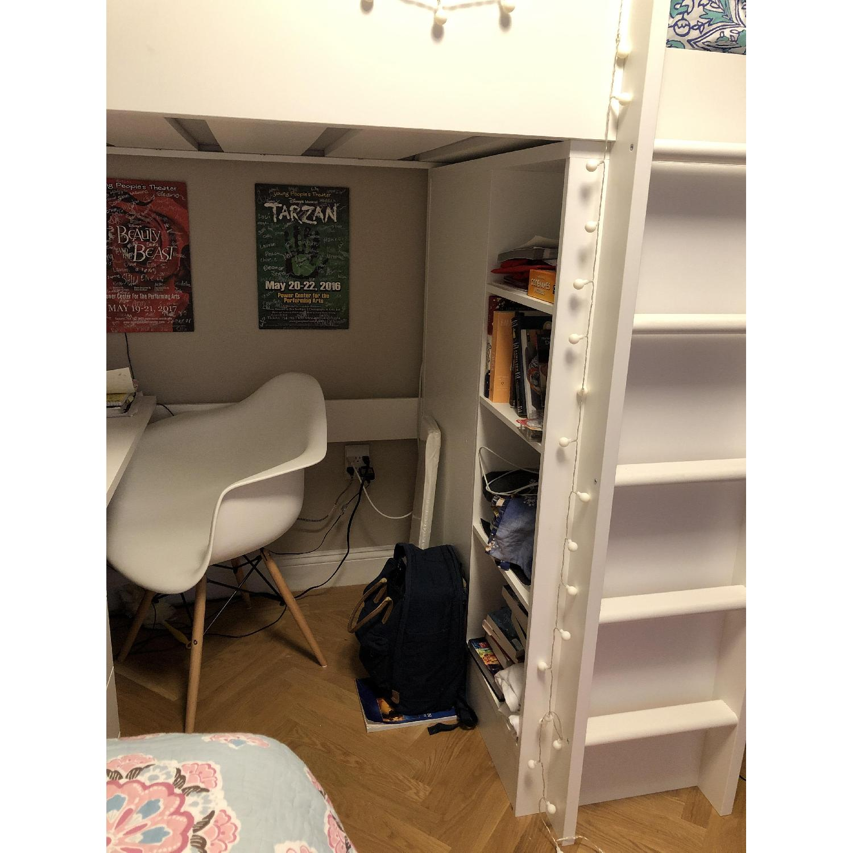 Ikea Stuva Kids 3-in-1 Loft Bed w/ Closet & Desk - image-1