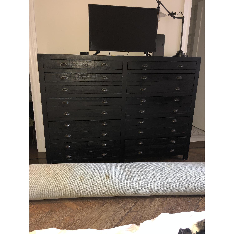 Restoration Hardware Printmaker's 10-Drawer Dresser - image-5