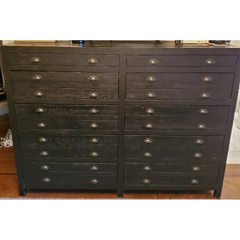 Restoration Hardware Printmaker's 10-Drawer Dresser - image-6