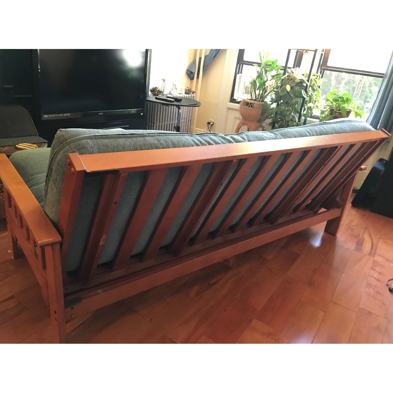 Full Size Wood Frame Futon - image-3