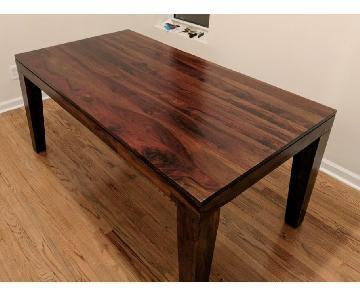 West Elm Carroll Solid Wood Farm Dining Table