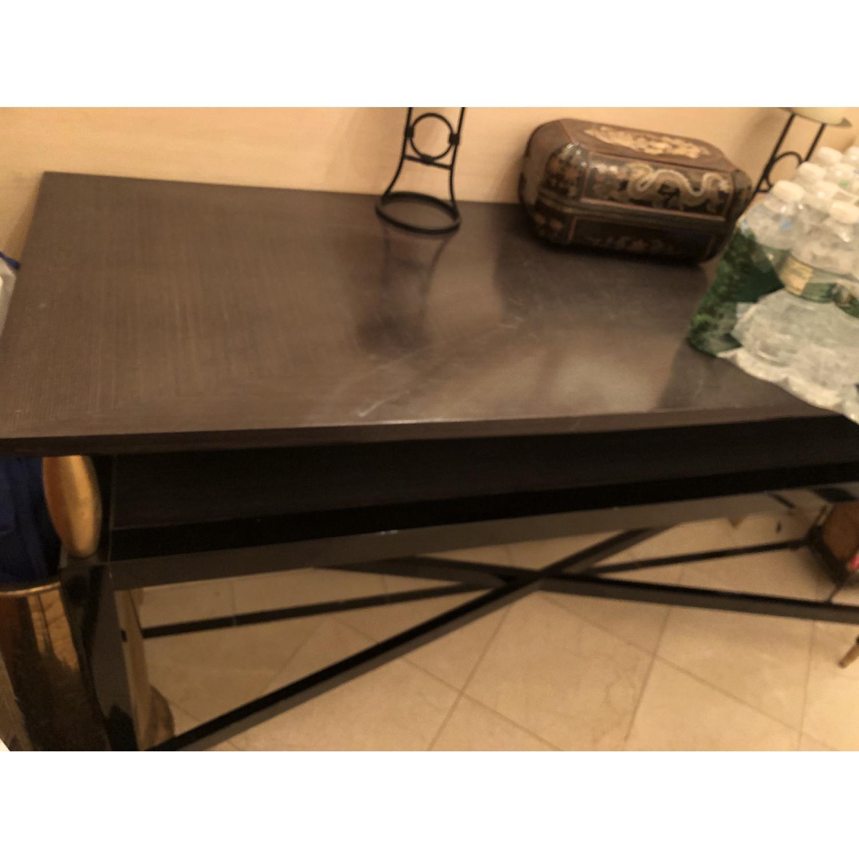 Wood Coffee Table - image-1