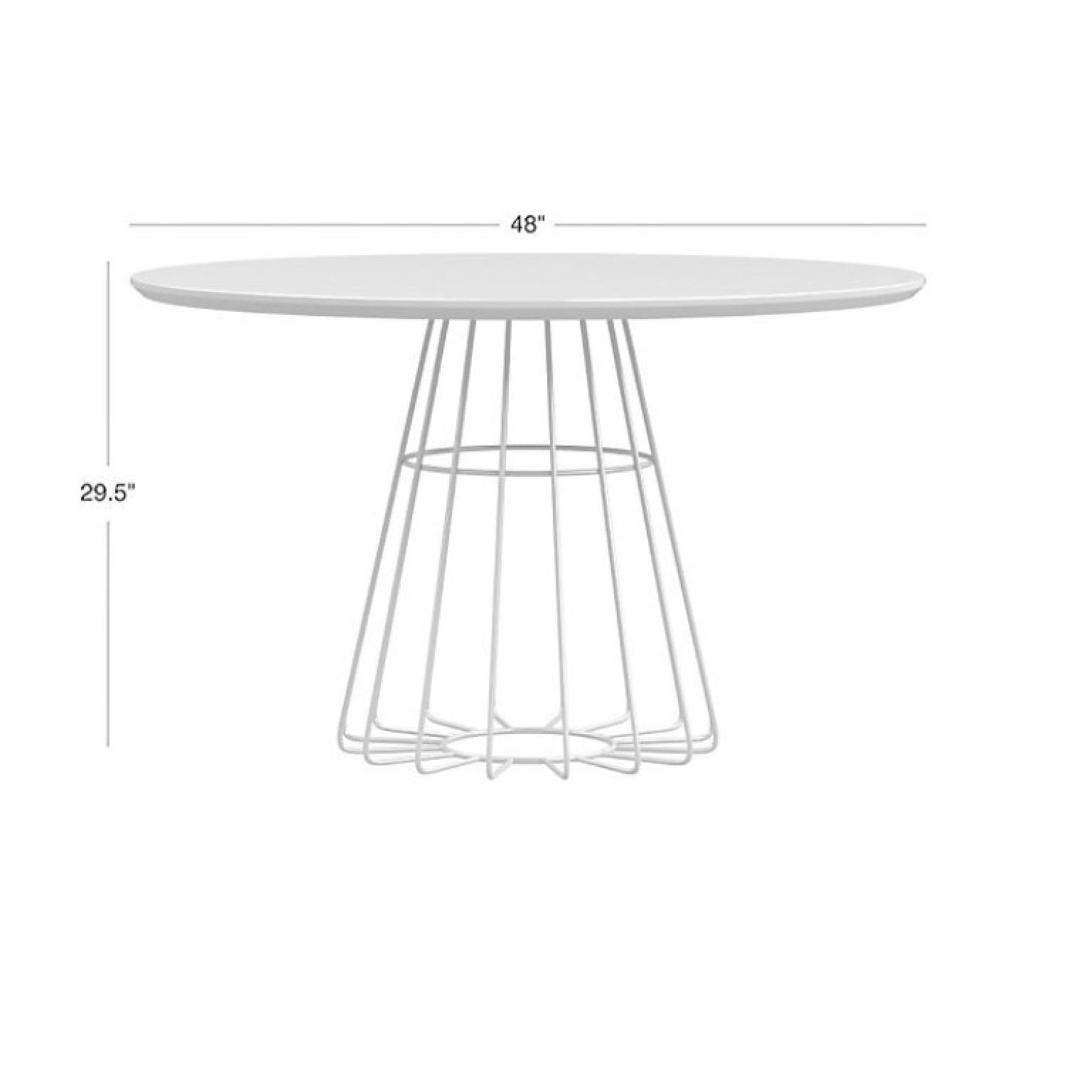 CB2 Compass Dining Table - image-2
