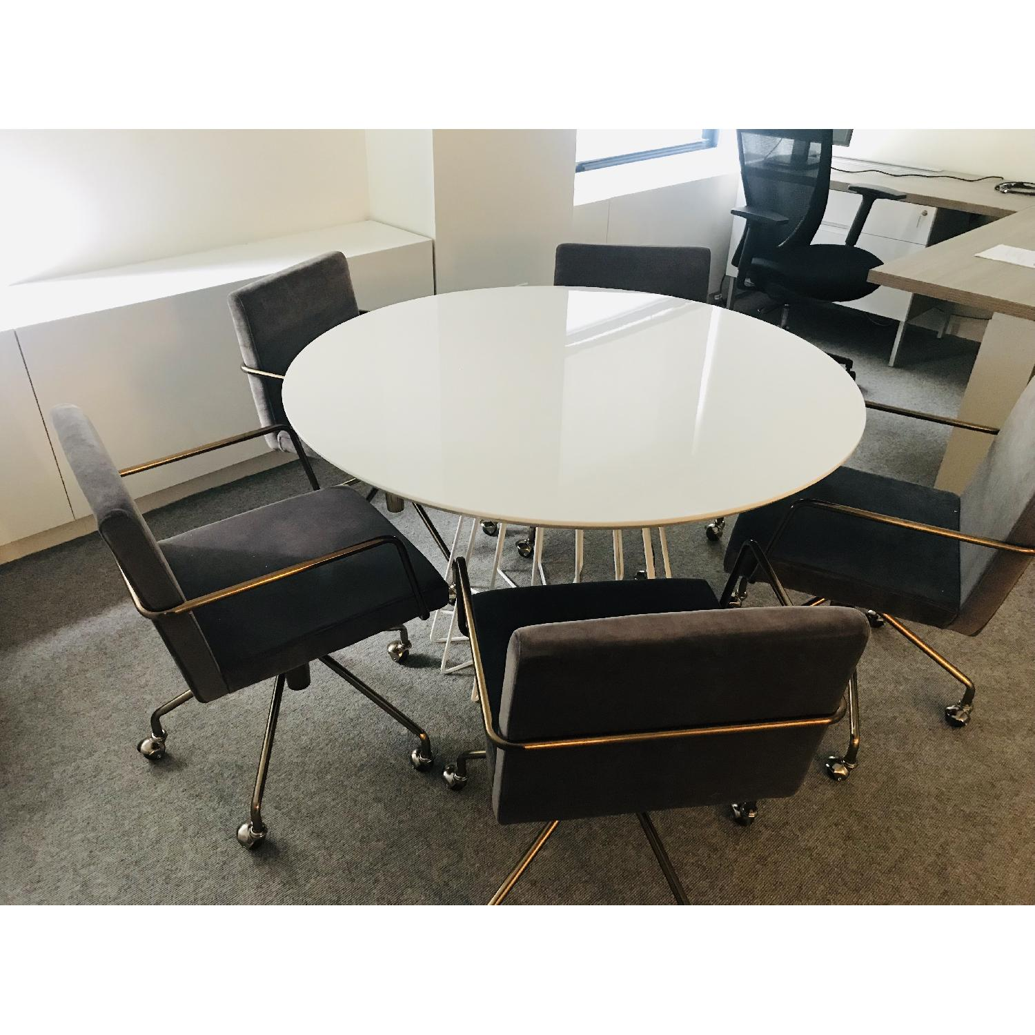 CB2 Compass Dining Table - image-3