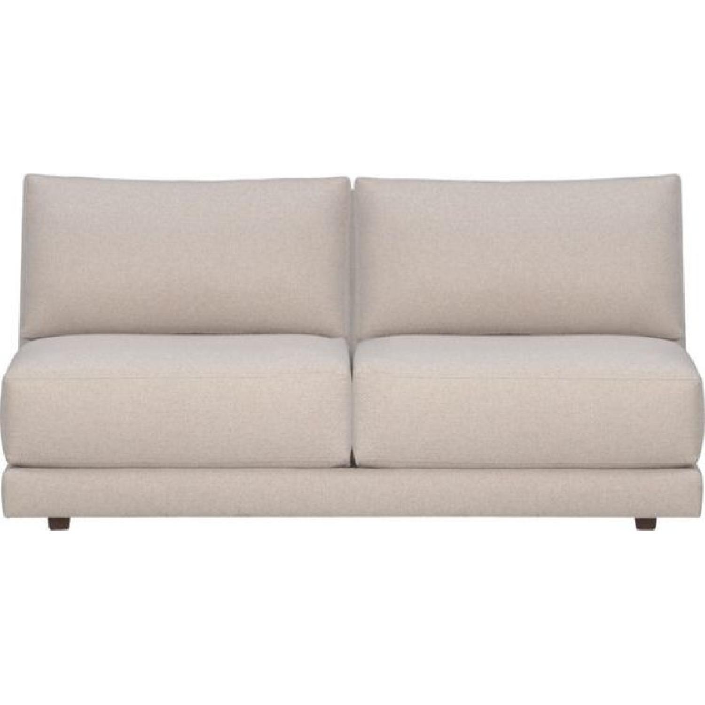 Crate & Barrel 2-Piece Moda Sectional Sofa - image-6