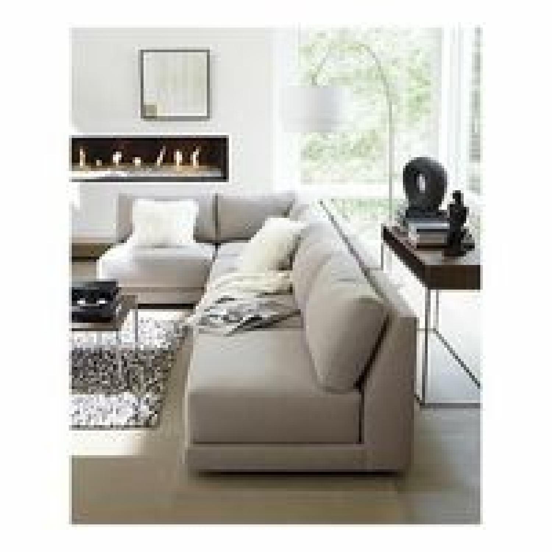Crate & Barrel 2-Piece Moda Sectional Sofa - image-7