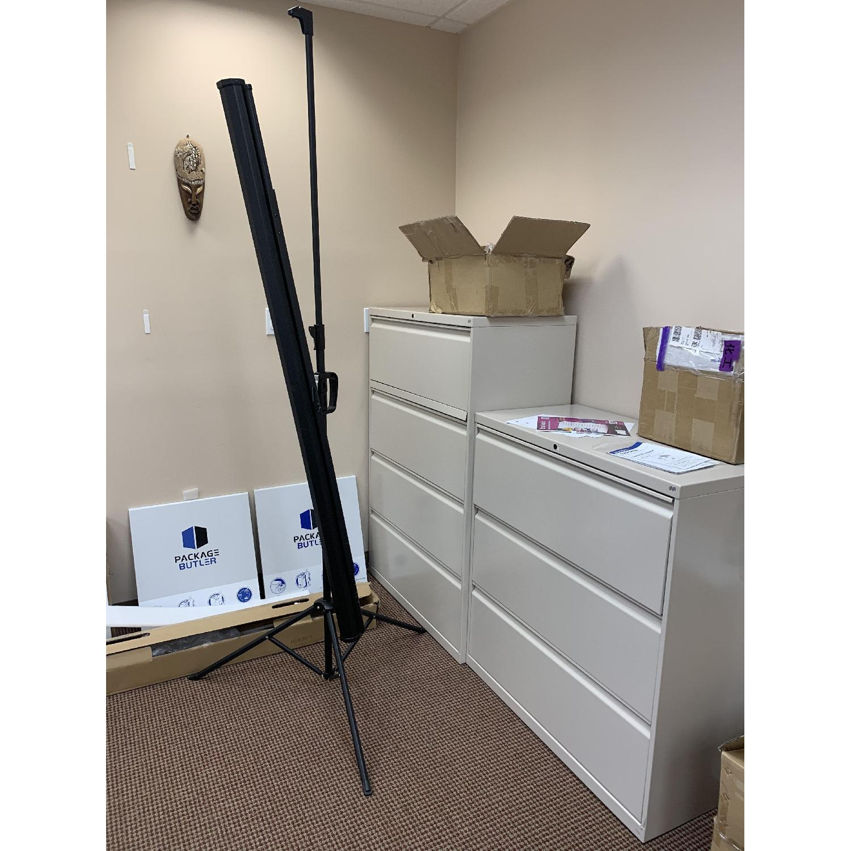 White 3-Drawer Storage/File Cabinet - image-0