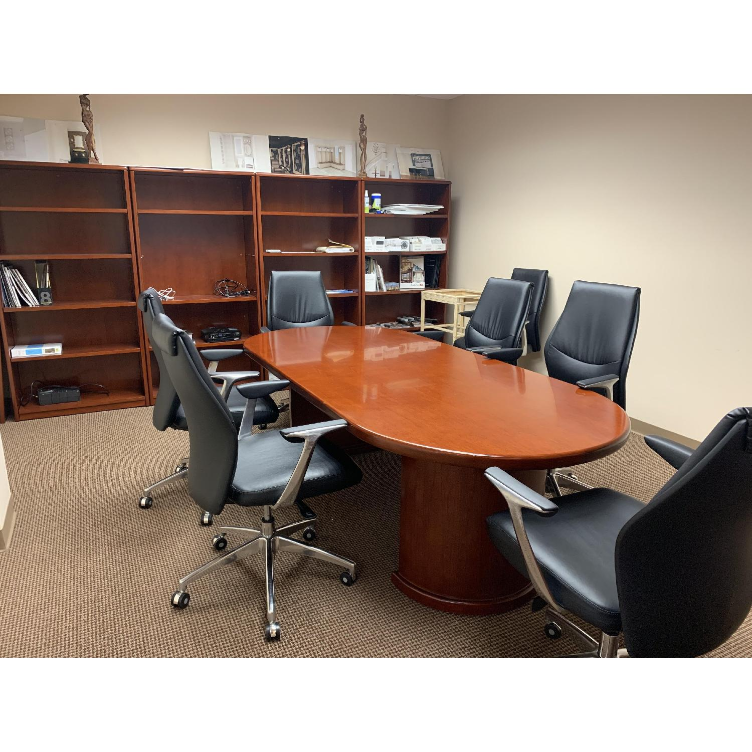 Conference Table w/ 6 Chairs - image-0