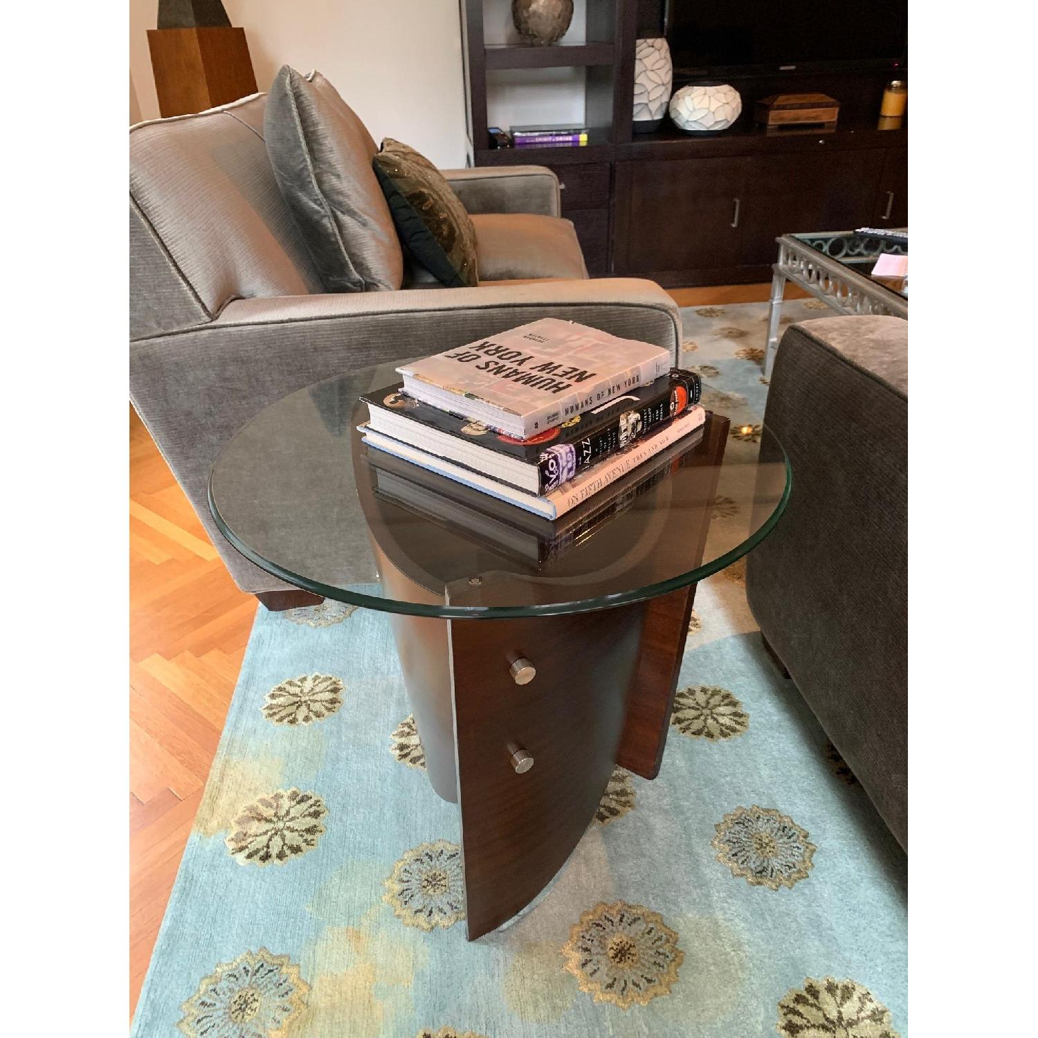 Raymour & Flanigan Contemporary End Table - image-1