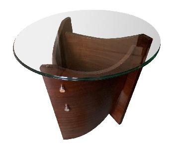 Raymour & Flanigan Contemporary End Table