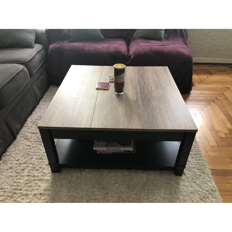 Ameriwood Home Carver Black Coffee Table - image-2