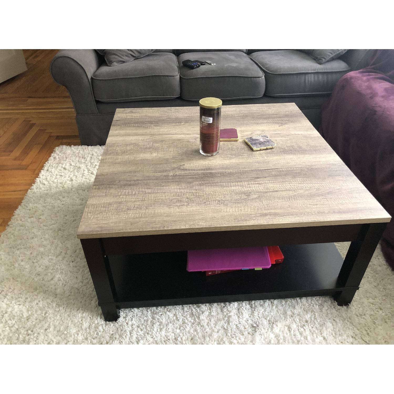 Ameriwood Home Carver Black Coffee Table - image-3