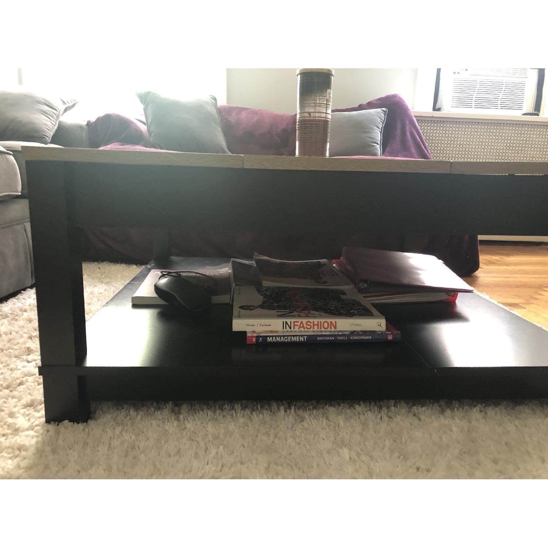 Ameriwood Home Carver Black Coffee Table - image-4