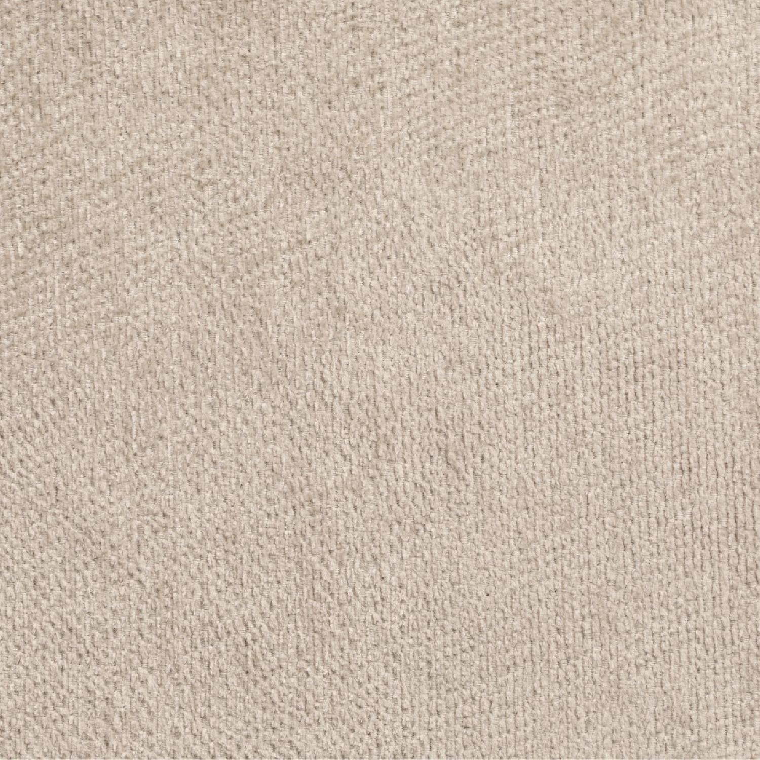 Sofabed w/ Cupholder Armrests in Beige Chenille Fabric - image-7