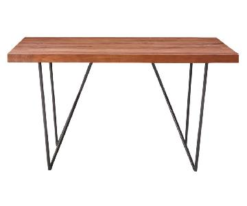 West Elm Dark Wood Dylan Dining Table