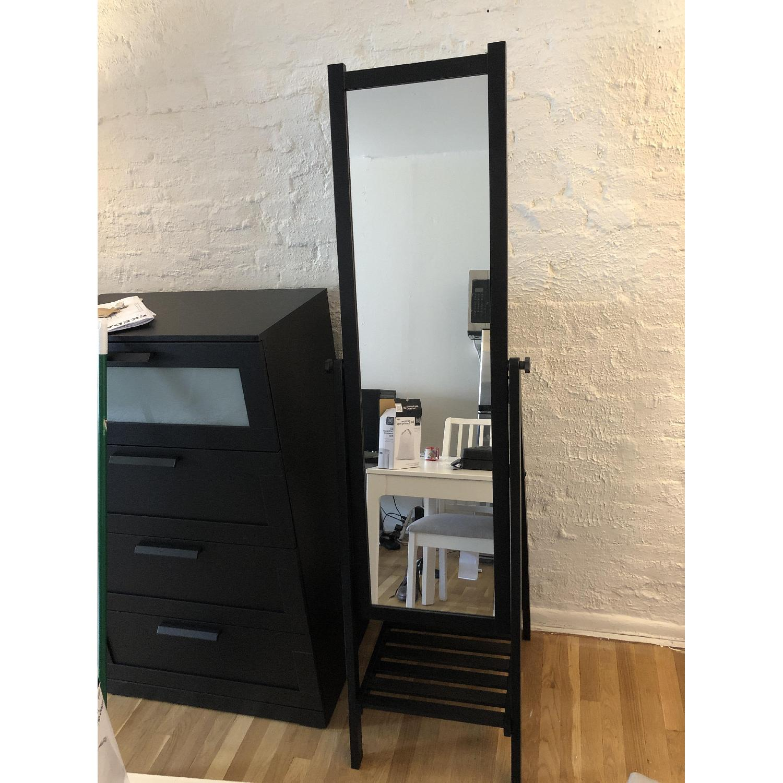 Ikea Isfjorden Standing Floor Mirror Aptdeco