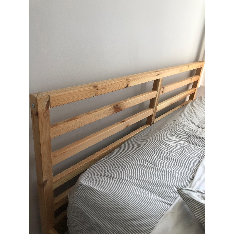 Ikea Tarva Queen Pine Bed Frame - image-2