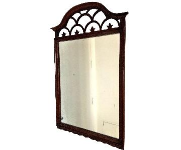 Vintage Mirror w/ Wood Frame